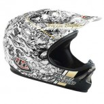 Casco Troy Lee History White