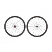 Set Wheels Zipp 303 Firecrest Black Tubular 2014