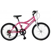 "Kid Bike Pirata 20"" Pink 6 speed"