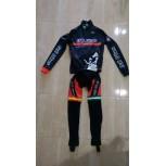 Equipación Bull Bikes Invierno Race Line Negro/Rojo