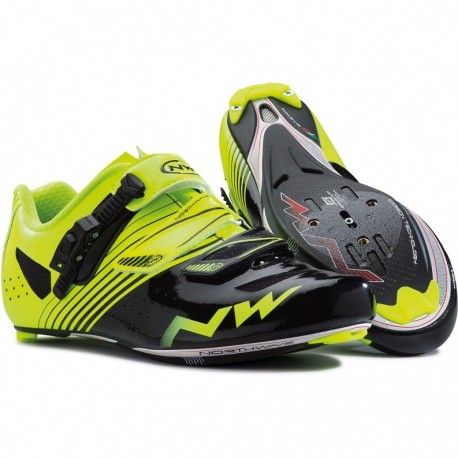 Northwave Torpedo SRS Shoes Yellow