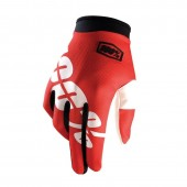 100% Glove Itrack Red