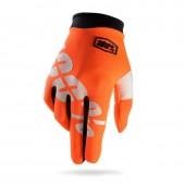 100% Glove Itrack Orange Fluo