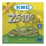 Cadena KMC Z510G Oro BMX